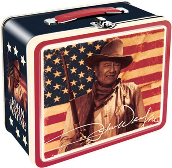 'John Wayne' Flag Lunch Box (OPLB48111)