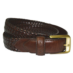 Thomas Cook 'Harry' Leather Braided Belt (TCP1910BEL)
