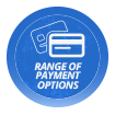 Range of Payment Options