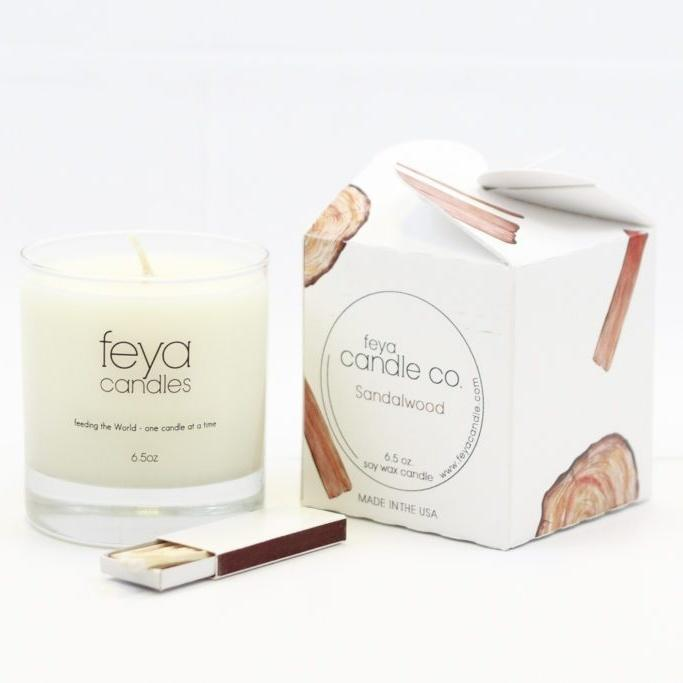 Countryside Sandalwood Candle