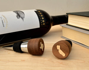 Customized Wooden Wine Stopper