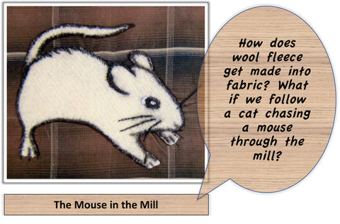 The Mouse in the Mill: I'm curious question behind the mural