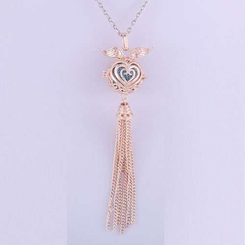 Rose Gold Angel Wings Chains Necklaces - Shopnep Store