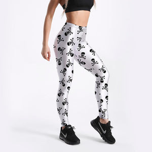 Pattern Digital Printing Elastic Force Legging - Shopnep Store