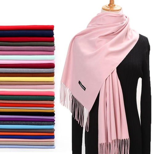 Solid Cashmere Scarves - Shopnep Store