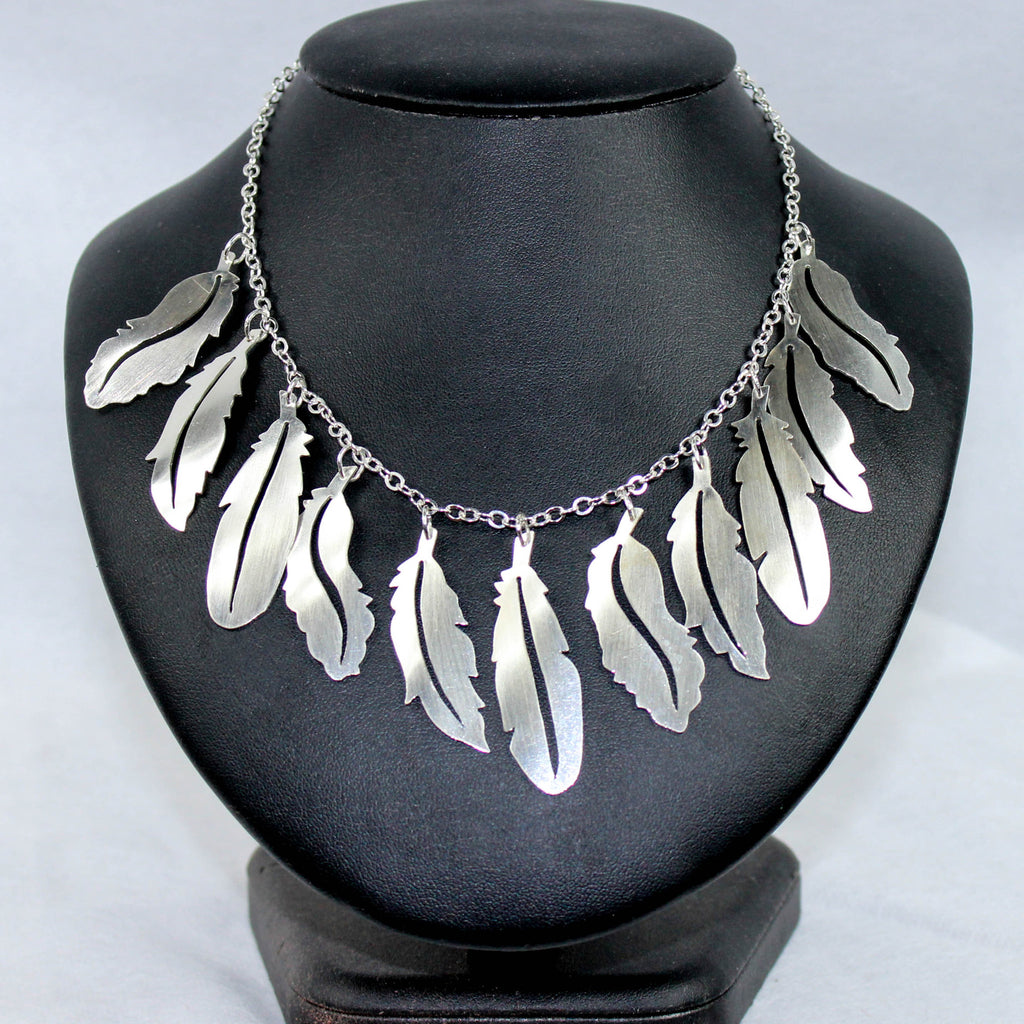Enchanting feather choker, - M&D Designs, M&D Designs - 1