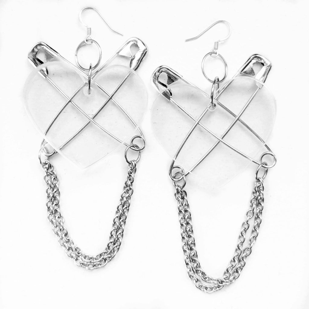 Punk at Heart earrings
