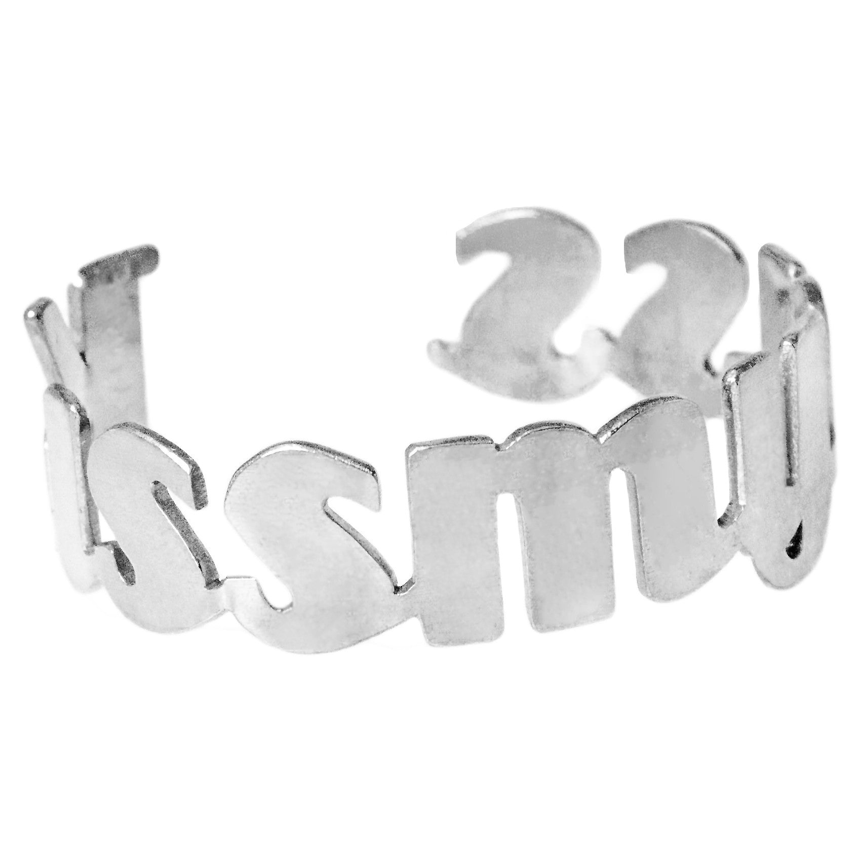 KmyA cuff (stainless steel), - M&D Designs, M&D Designs
