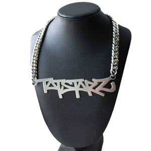 XL Custom Graffiti Nameplate Necklace