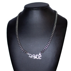 Custom Graffiti nameplate necklace