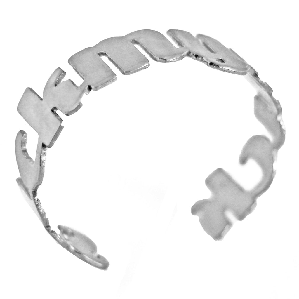 SMD cuff (stainless steel), - M&D Designs, M&D Designs
