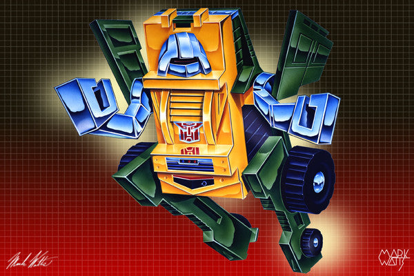 Transformer Brawn : By Artist Mark Watts