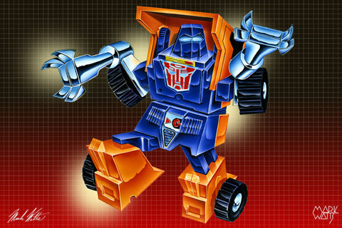 Transformer Huffer : By Artist Mark Watts
