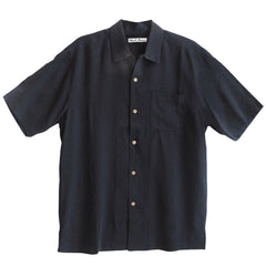 Silk Shirt 1964 Flashback Black