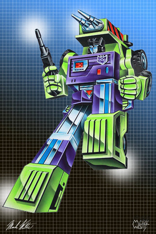 Transformer Mix Master : By Artist Mark Watts