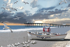 Ocean City: By Artist Mark Watts