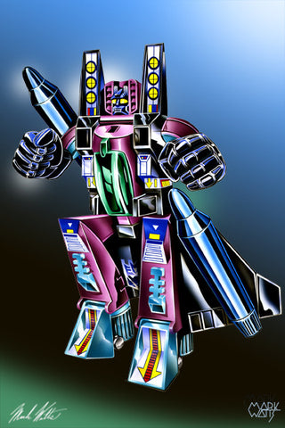 Transformer Ramjet : By Artist Mark Watts