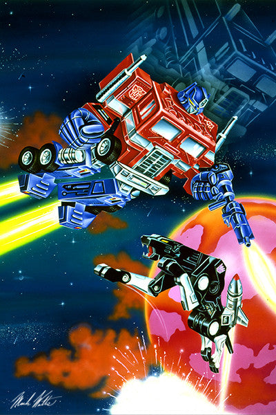 Transformer Scene 1 : By Artist Mark Watts