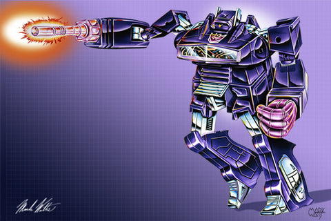 Transformer Shockwave: By Artist Mark Watts