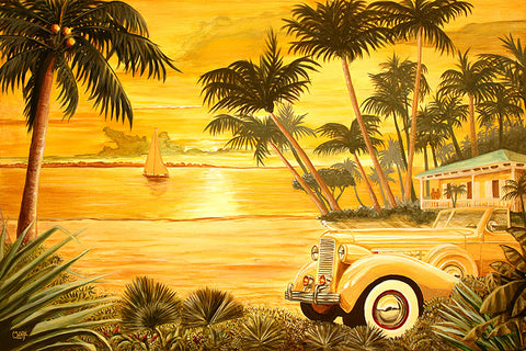 Tropical Getaway Art: By Artist Mark Watts