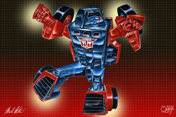 Transformer Windcharger : By Artist Mark Watts