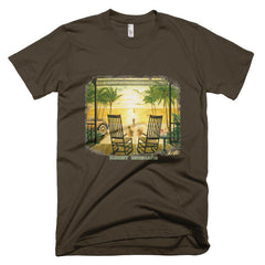 Sunset Serenade / Short sleeve men's t-shirt
