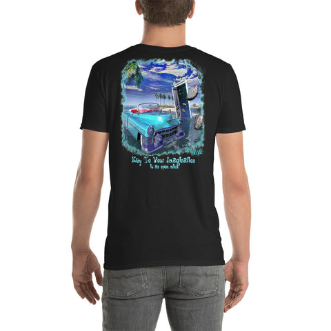 Key to your Imagination - Short-Sleeve Unisex T-Shirt