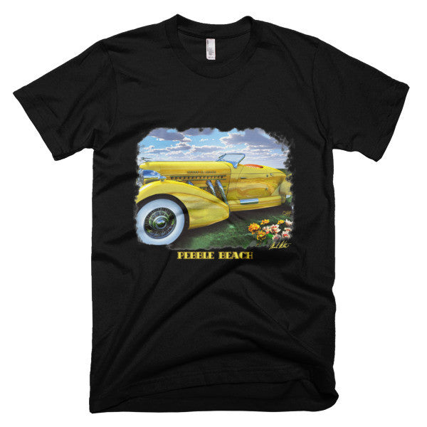 Pebble Beach / Short sleeve men's t-shirt