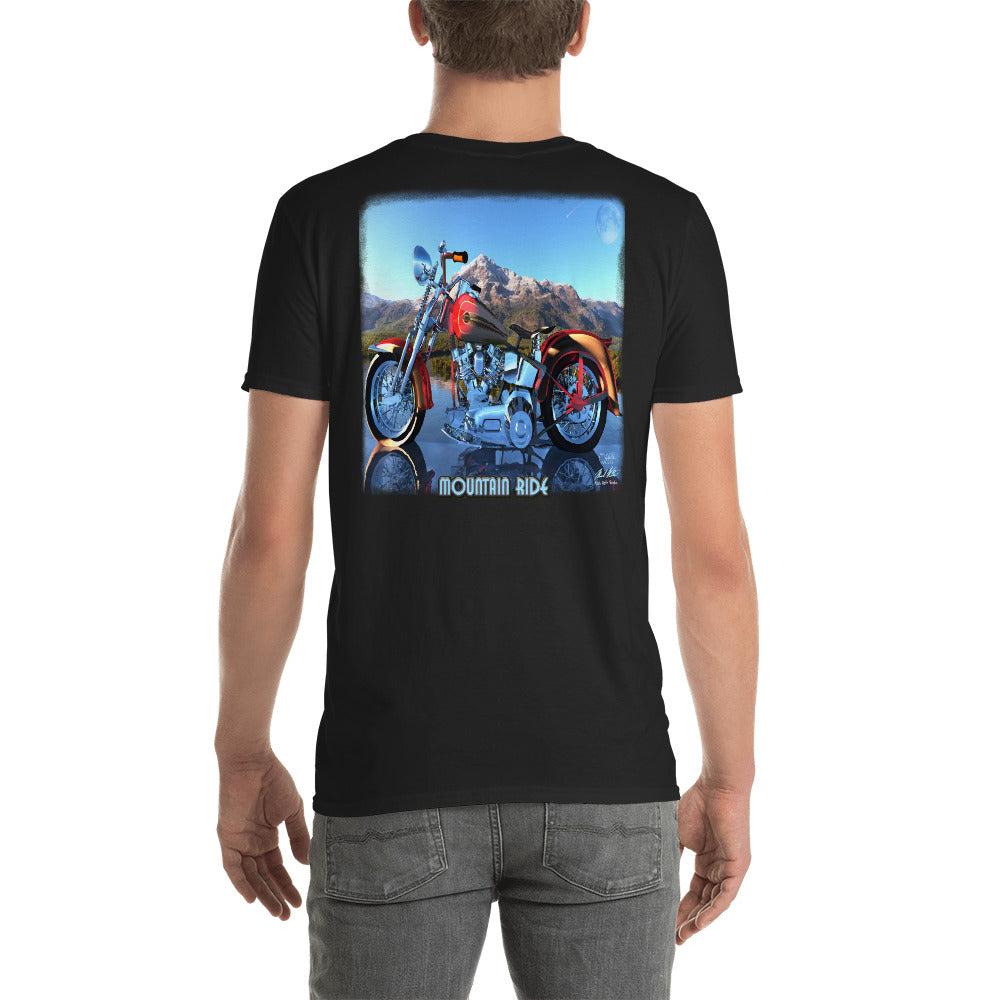 Mountain Ride - Short-Sleeve Unisex T-Shirt