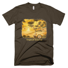 Tropical Getaway / Short sleeve men's t-shirt