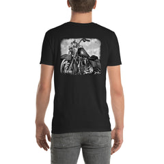 Road King B&W - Short-Sleeve Unisex T-Shirt