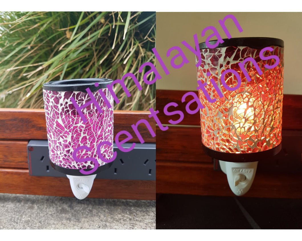 Pink Crackle Plug In Warmer