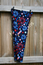 Load image into Gallery viewer, Star Fireworks Leggings