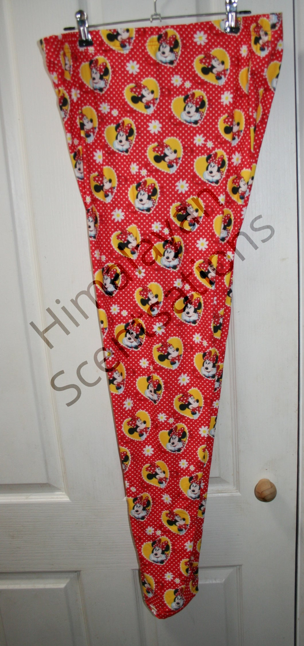 Minnie Likes Red Leggings