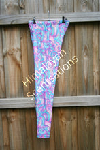 Load image into Gallery viewer, Purple Tails Leggings