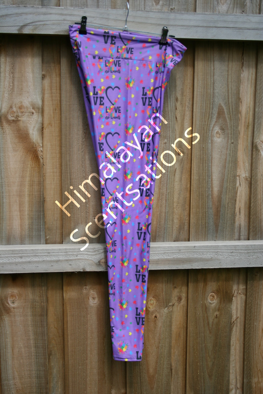 Autism Love Leggings
