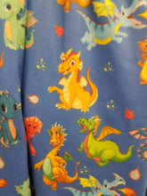 Load image into Gallery viewer, Blue Dragons Kids Leggings