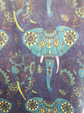 Load image into Gallery viewer, Blue Elephant Leggings