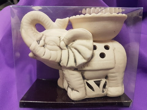 Elephant Trunk Up Tealight Warmer