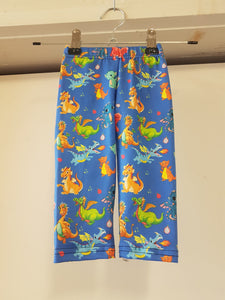 Blue Dragons Kids Leggings