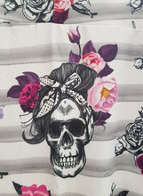 Load image into Gallery viewer, Rockabilly Skull Leggings