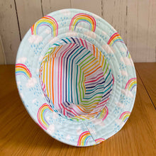 Load image into Gallery viewer, Rainbow Baby Bucket Hat 48cm