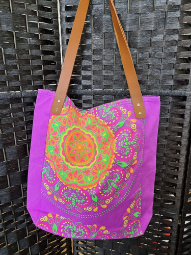 Large Screen Printed Bags