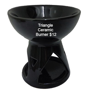 Triangle Tealight Wax Melt Warmer