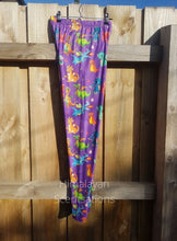 Load image into Gallery viewer, Purple Dragon Leggings