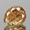 0.81 cts Brown Diamond Pear Shape Untreated Color