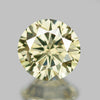 0.22 cts Yellow Diamond Round Shape Untreated Diamond