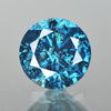 0.39 cts Blue Diamond Round Shape Fancy DIamond