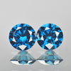0.64 cts Blue Diamond Round Shape Fancy DIamond