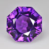 5.59 cts Purple Amethyst Round Fancy Cut Shape